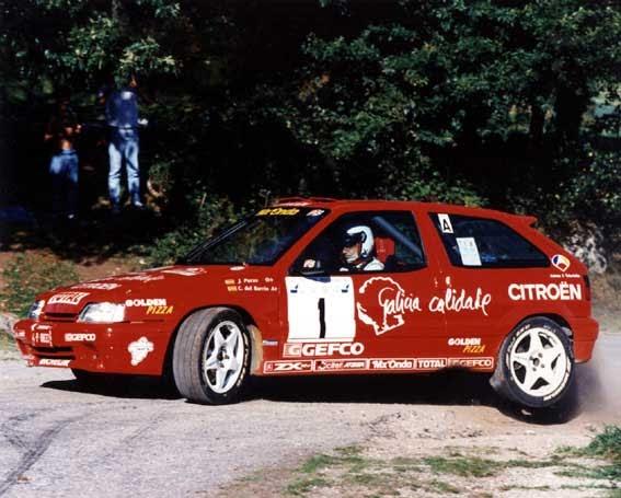 Chus Puras en slot by Marce: Año 1995 Citroen ZX 16v (Campeón de España)